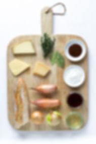 Ingredients Board - French Onion Soup.jp