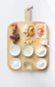 Buckwheat Pancakes - Ingredients Board