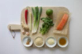 Salmon Fish Cakes Ingredients