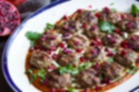 Smokey Lamb Kofte and Pepper Sauce