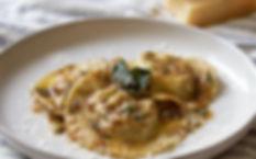 Mushroom and Ricotta Ravioli