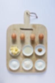 Honey Milk Tart Ingredients