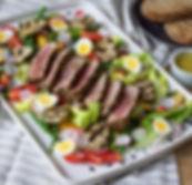 Miso Tuna Salad Niçoise