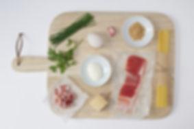 Luxurious Duck Egg Carbonara Ingredients