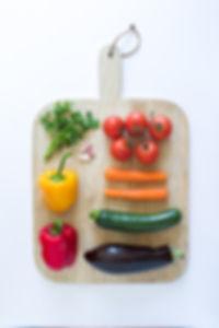 Ingredients Board Ratatouille