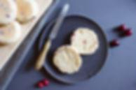 Cranberry & Clemetine English Muffins