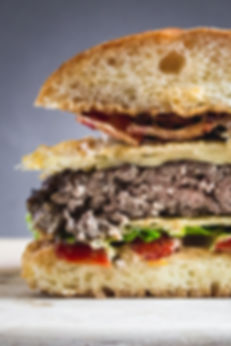 Smash Burger Cross Section