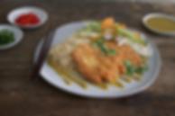 Malaysian Chicken Katsu Curry