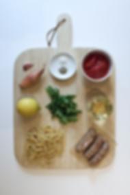 Sausage Ragu & Fennel Casarecce Ingredients