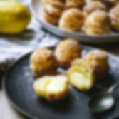 Lemon Curd Choux with