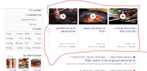 קידום אוגני בתוצאות וידאו