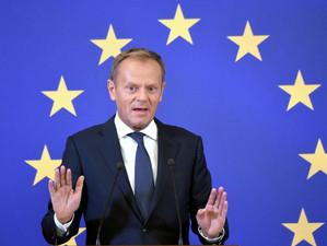 Președintele Consiliului European, Donald Tusk, recomandă liderilor Uniunii Europene să aprobe cerer