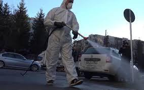 """OMS: """"Dezinfectarea străzilor nu elimină noul coronavirus și poate fi periculos pentru sănătatea oam"""