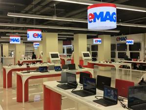 eMAG domină piața vânzărilor online din România