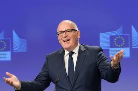 Socialiștii europeni îl propun pe Frans Timmermans pentru funcția de președinte al Comisiei Europene