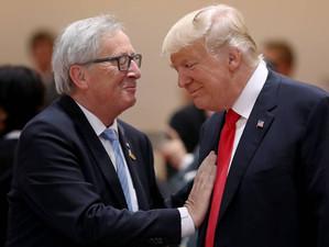 Donald Trump și Jean-Claude Juncker au ajuns la o înțelegere privind reducerea taxelor vamale