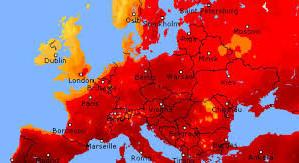 Mai multe țări europene sunt victimele unui val de caniculă fără precedent