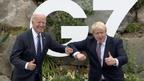Summitul G7 a debutat cu o întâlnire între Joe Biden și Boris Johnson