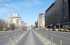 Multe dintre orașele Europei sunt pustii ca urmare a restricțiilor cauzate de coronavirus
