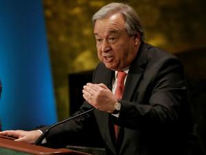 """Secretarul general al ONU acuză """"o lume din ce în ce mai haotică"""""""
