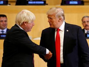 """Boris Johnson despre Donald Trump: """"Am devenit tot mai convins că există o metodă în nebunia lui"""""""