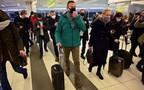 Opozantul rus, Aleksei Navalnîi a fost arestat pe aeroport la revenirea sa în Rusia