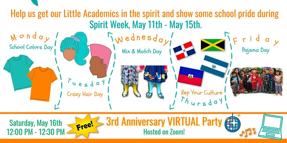 Virtual 3rd Anniversary Party