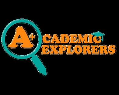 Academc Explorers Logo, daycare, day care, preschool, roosevelt, 11575, infants, todders, pre-k, after school