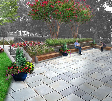 GreenView Partners, Landscape Design, Research Commons