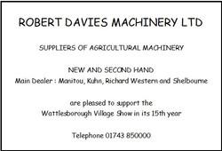 Robert Davies Machinery Ltd
