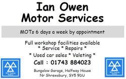 Ian Owen ad