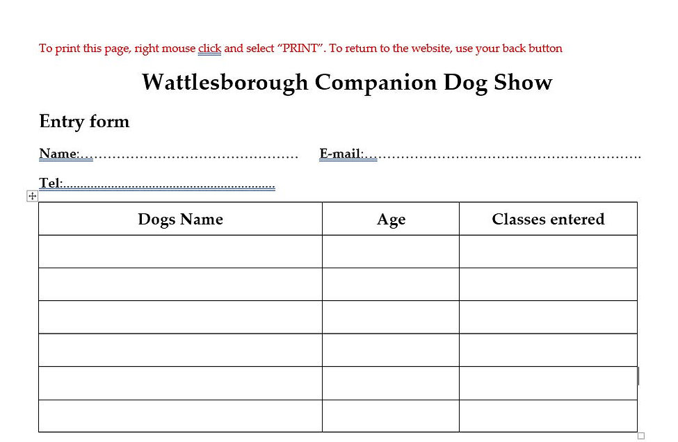 Dog show entry form.JPG