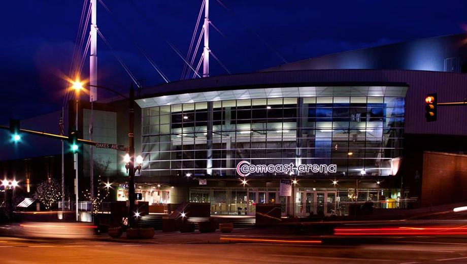 Comcast Arena - 13 miles