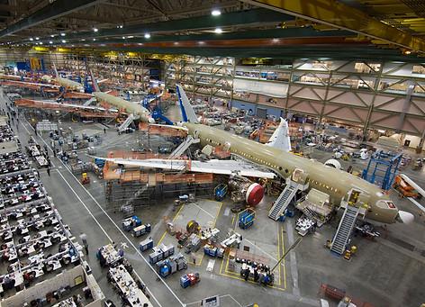 Future of Flight Boeing Factory Tour - 8.8 miles