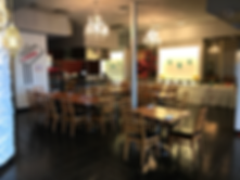 Main Floor at Lazeez Indian-Mediterranean Grill Halal Restaurant