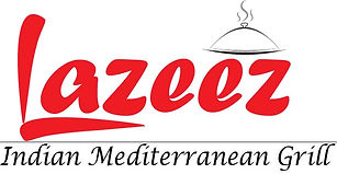 Lazeez Indian-Mediterranean grill Restaurant (Logo for Lazeez Halal Indian-Mediterranean restaurant)