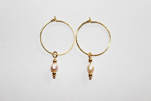 small hoops | kerstin