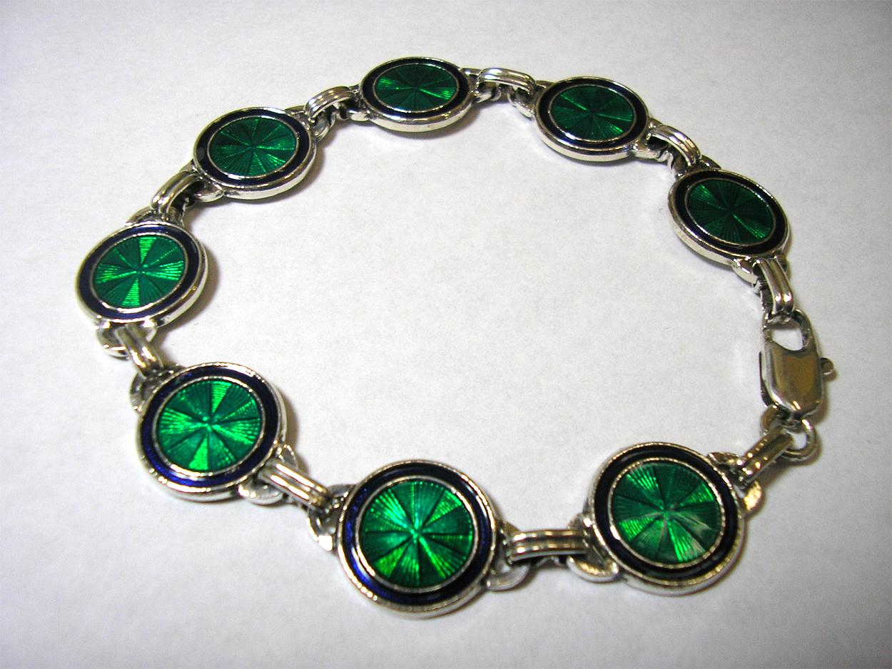 Champlevé Panel Bracelet