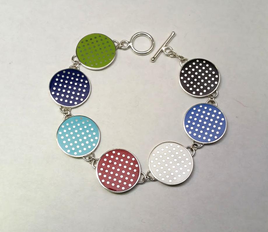 Champlevé Enamel Bracelet
