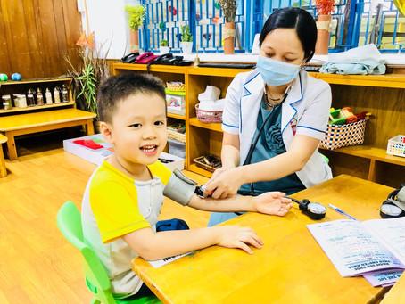 Khám sức khỏe định kỳ năm học 2020 - 2021