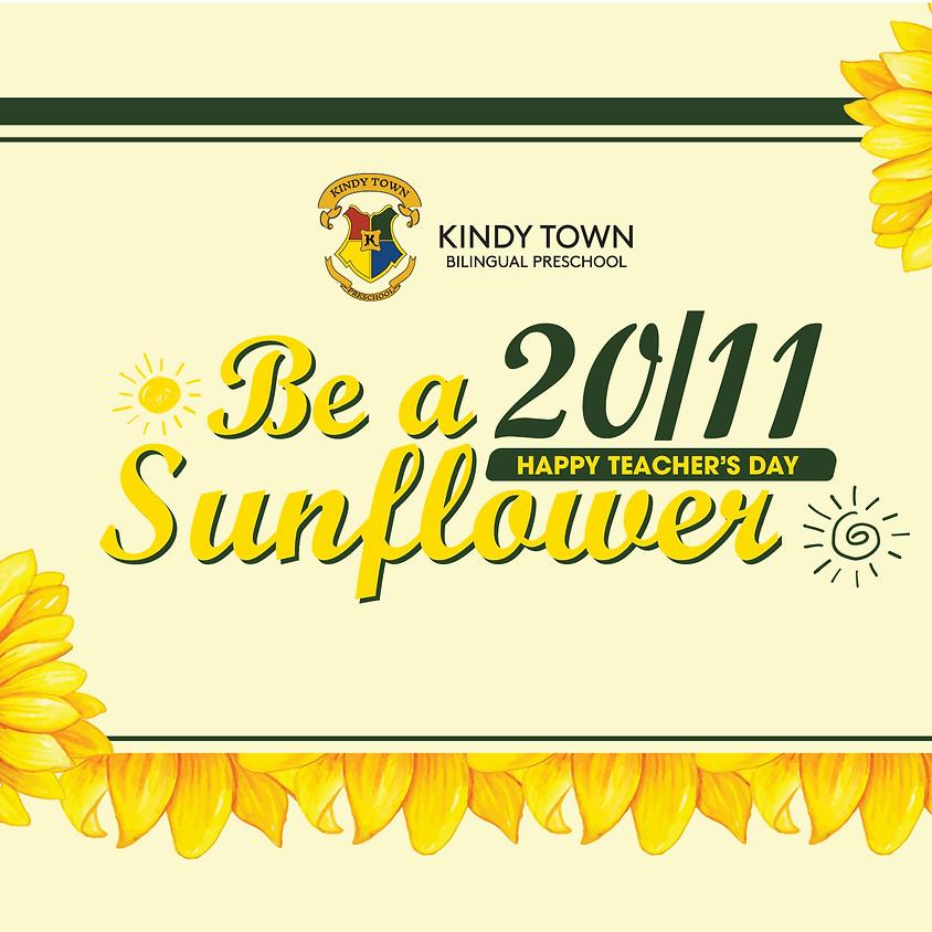 Happy Teacher's Day 2020 - Be a Sunflower