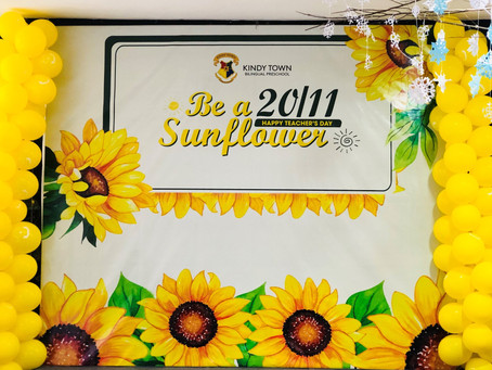Teacher's Day Celebration 2020 - Be A Sunflower