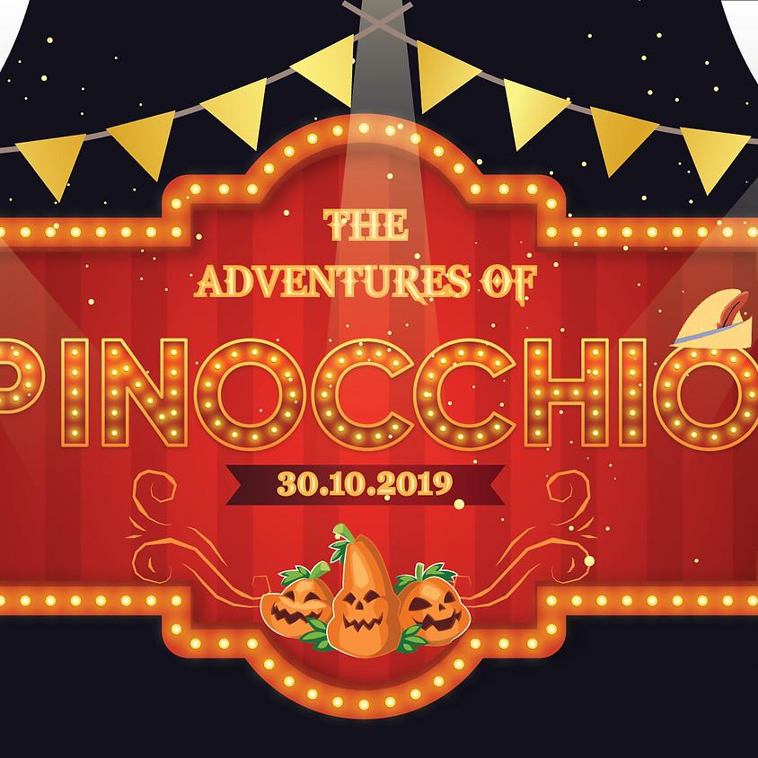 Vũ hội Halloween - Những cuộc phiêu lưu của Pinocchio
