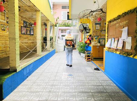 Kindy Town - Chủ động phòng ngừa nhằm đảm bảo an toàn cho học sinh sau thời gian nghỉ chống dịch