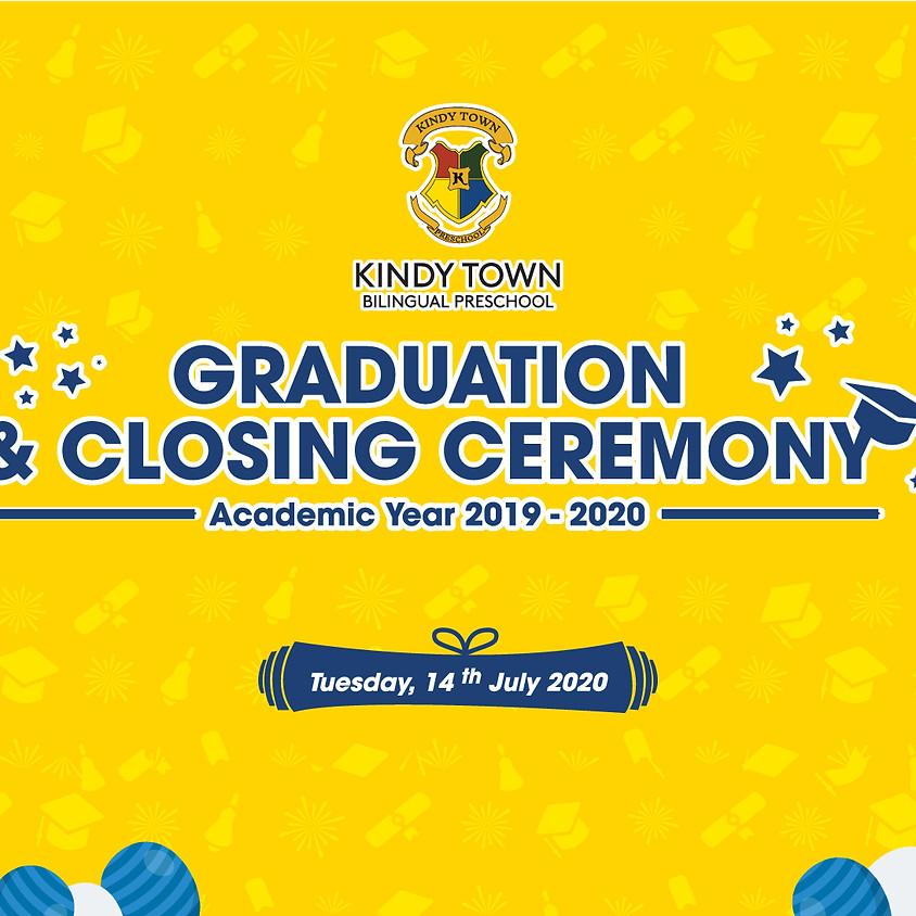 Kindy Town Graduation Ceremony Academic Year 2019 - 2020