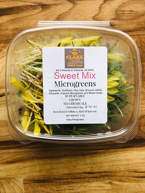 3oz Sweet Microgreens Mix