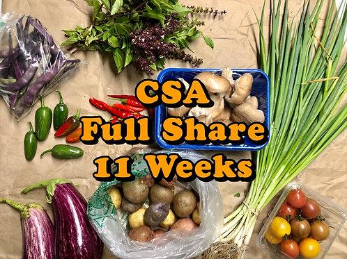 CSA Full Share 11 Weeks