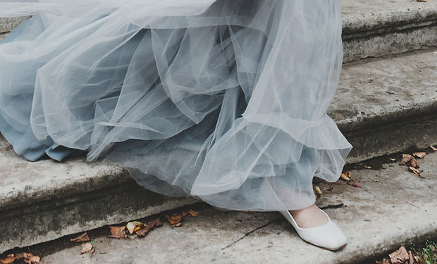 Canva - Woman wedding gown made of laces