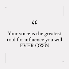 Your Voice Speaks