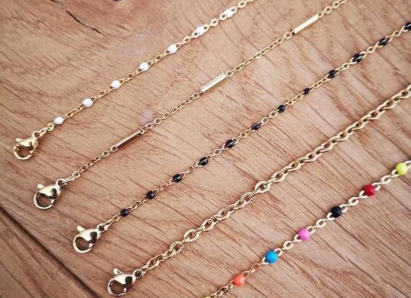 Bracelet de cheville Alba